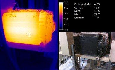 Integração da análise de vibrações e termografia em rotina