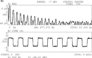 As medias numa analisador de vibrações 6