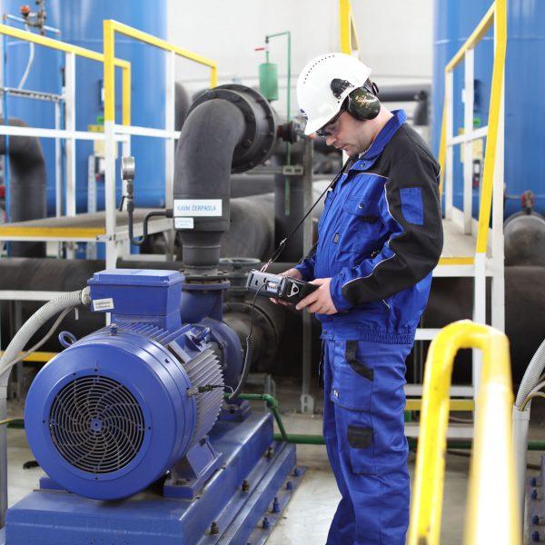 análise de vibrações e, motores elétricos
